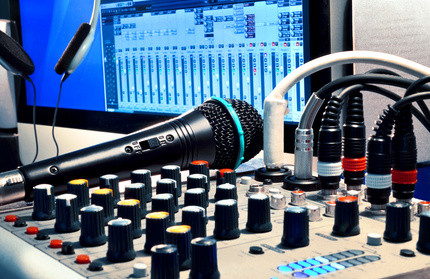 A digital audio workstation is at the center of most modern-day recording studios