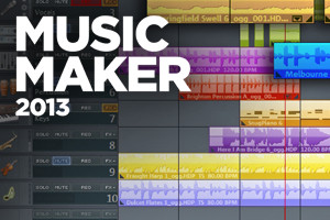 Magix Music Maker is a great production program for beginners