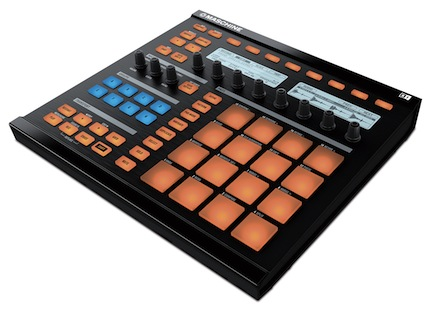 Native Instruments Maschine can be used in the studio or during a live performance