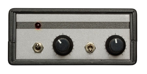 A vintage outboard preamp
