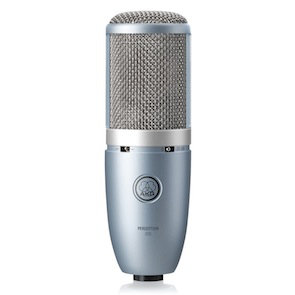 The AKG Perception 220 is another condenser mic that will produce great recordings of the acoustic guitar