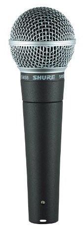 Shure's SM58 dynamic mic