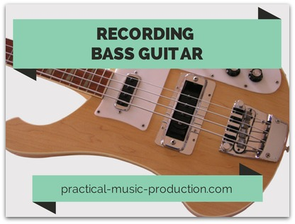 Capturing a great bass guitar sound can give your productions a solid and chunky low-end