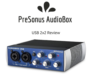 The PreSonus AudioBox - a review of the popular audio interface