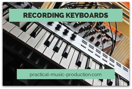 Check out this complete guide on how to record keyboard in your home studio