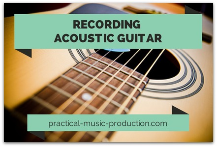 Here's a straightforward guide to capturing a crisp and clear sound when recording acoustic guitars