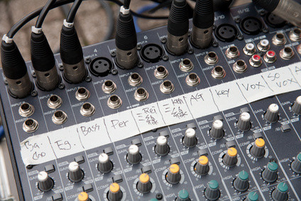 The recording engineer is usually the one who connects all the equipment together in the studio