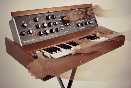 A Minimoog from Moog Music