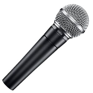 Good mics for recording guitar - Shure SM58