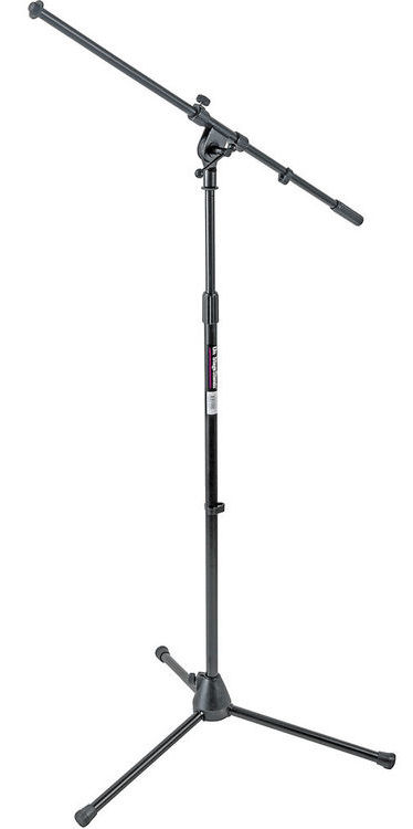 The MS7701B Euro Boom mic stand is perfect for the AKG D112