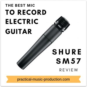 The best mic to record electric guitar is by far the Shure SM57