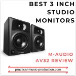Best 3 Inch Studio Monitors – M-Audio AV32 Review